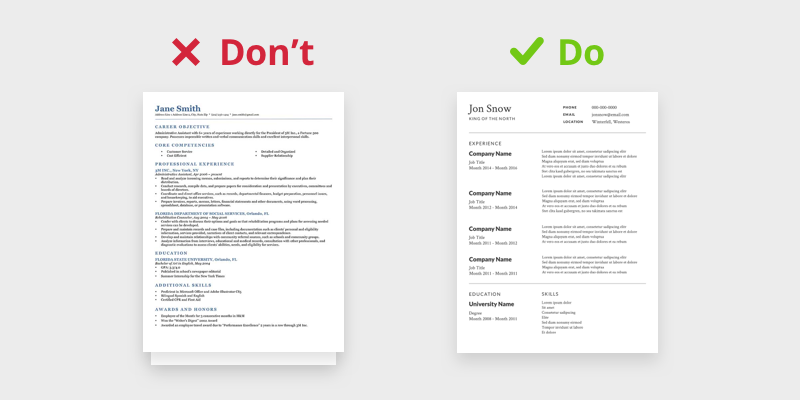 how to design your own resume