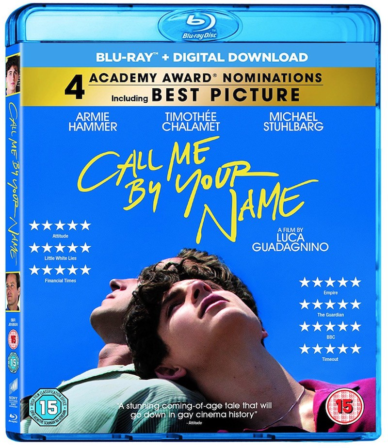 Call Me By Your Name 2017 Blu Ray Dvd By Davide P Frame Rated Medium