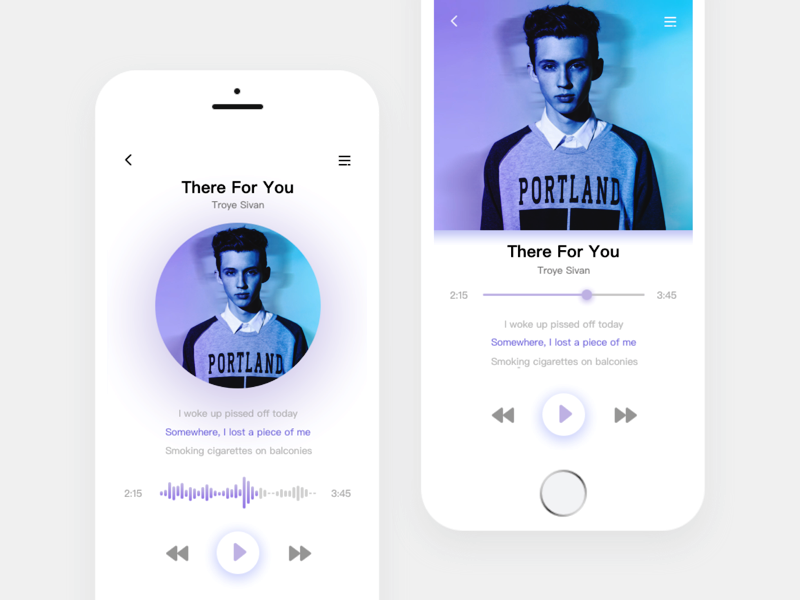 Music Player Inspiration 2017 - Muzli - Design Inspiration
