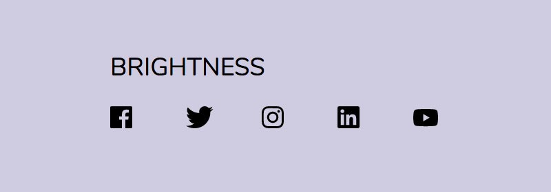 Black and White version of colored icons with CSS
