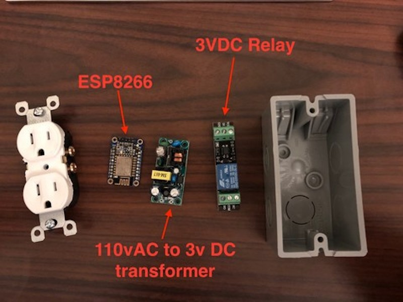 Use This DIY RESTful Smart Power Plug However You Want