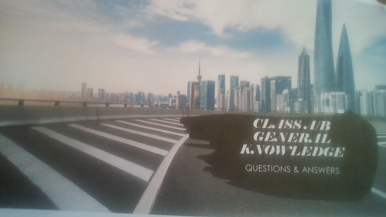 Class A/B General Knowledge Q/A And All Endorsements Learn More: https://wwhite-marketing.com