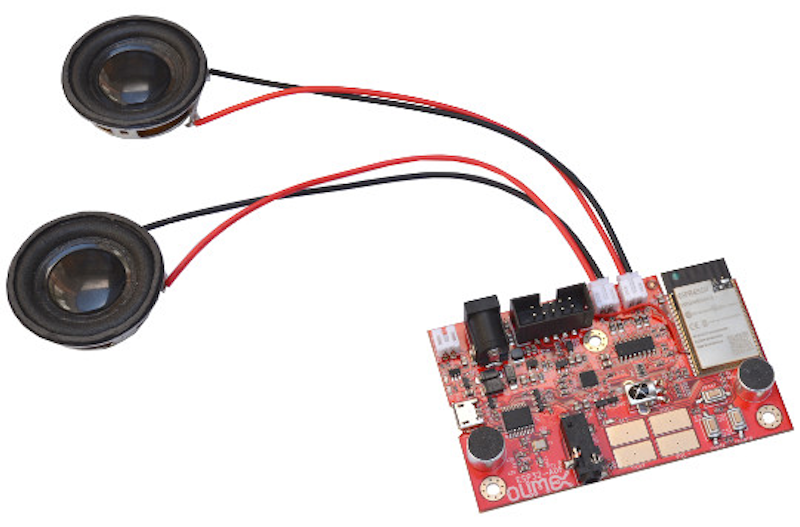 Olimex Drops ESP32-ADF Board for Audio Applications