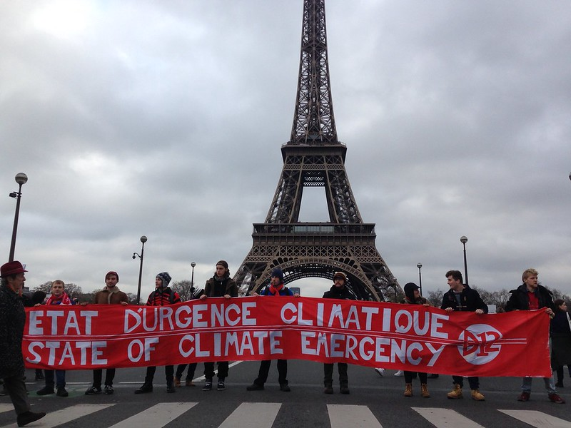 An ever growing intensity of protests around the climate crisis