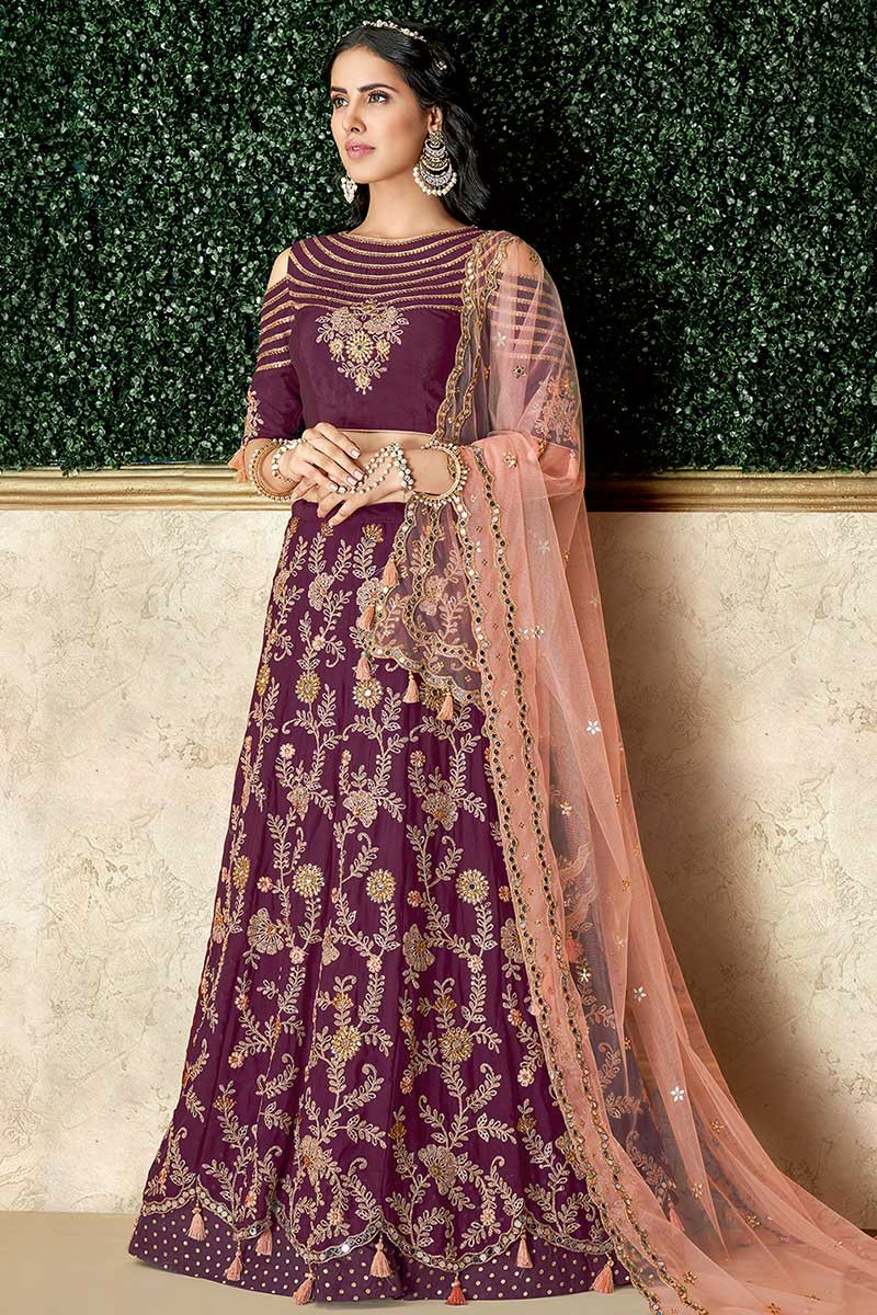 Latest Lehenga Choli Designs For Wedding By Fabja Medium