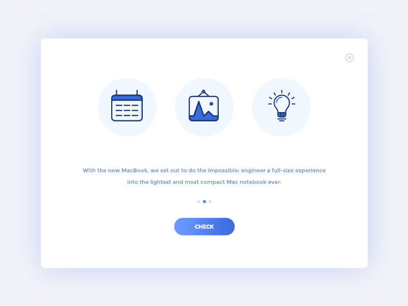 A Small Collection Of Modal Window Designs By Freebie Supply Inspiration Supply Medium
