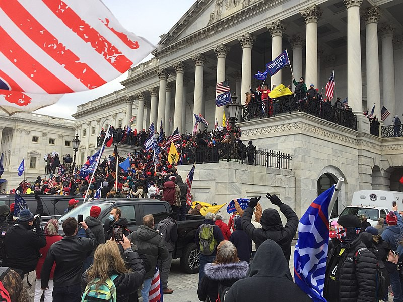 On January 6th, rioters overwhelmed the police and stormed into the US Capitol