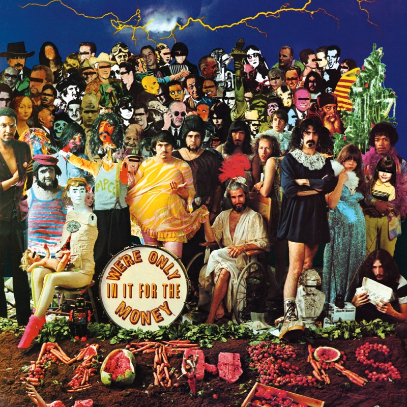 Inner sleeve of We're only in it for the money by the Mothers of Invention