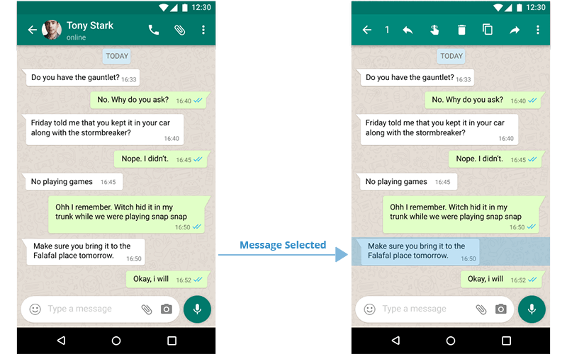 WhatsApp Remind Feature — a UX case study - UX Collective