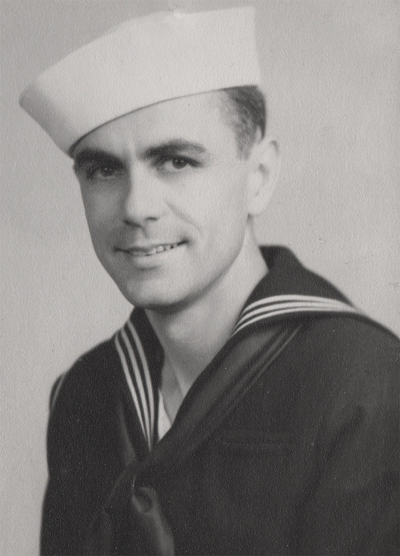 Chief Petty Officer Phil Hubbell USN (Pre-war photo)