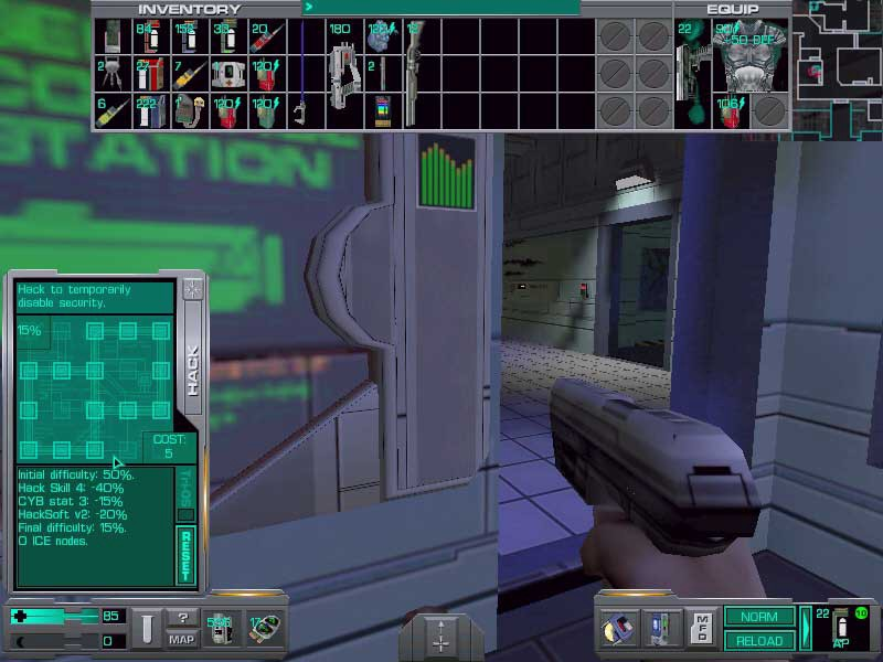 This Game In History: System Shock (1994) - SixFootTurkey64