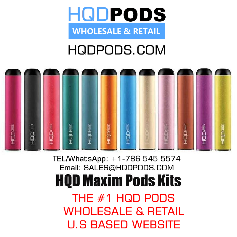 HQD MAXIM - HQD Cuvie Pods - Medium