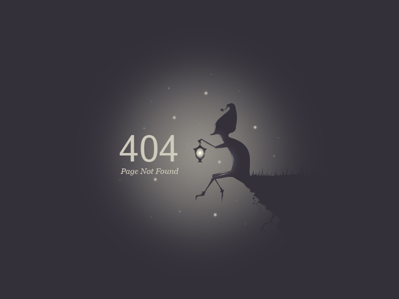 404 Page Inspiration - Muzli - Design Inspiration