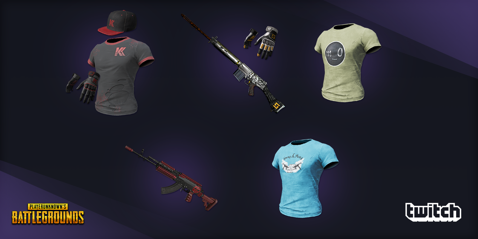 UPDATED August 23: Next round of PUBG skins featuring your