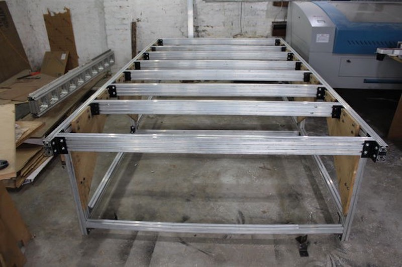 Build Your Own 5 U0026 39 X10 U0026 39  Cnc Router From The Frame Up