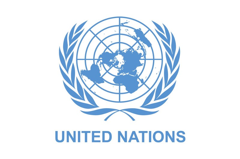 United Nations logo is a flat earth map