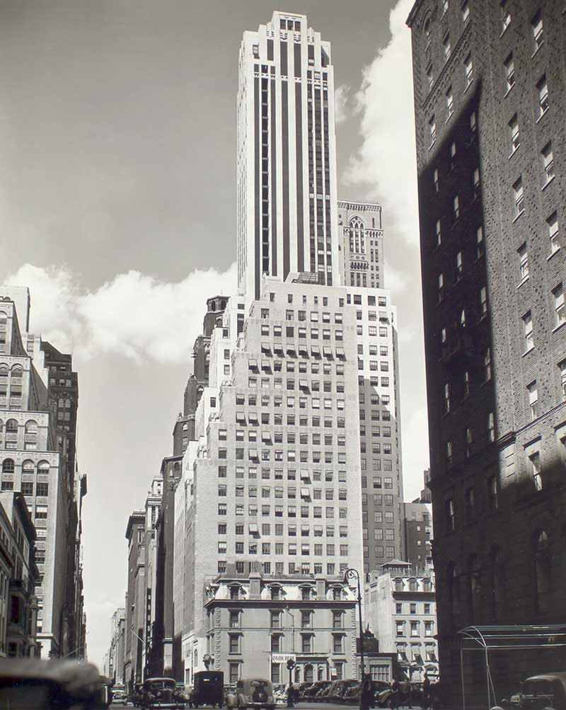 Archival image of Madison Avenue, New York