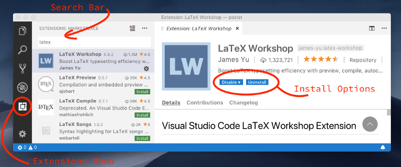 Writing LaTeX Documents In Visual Studio Code With LaTeX