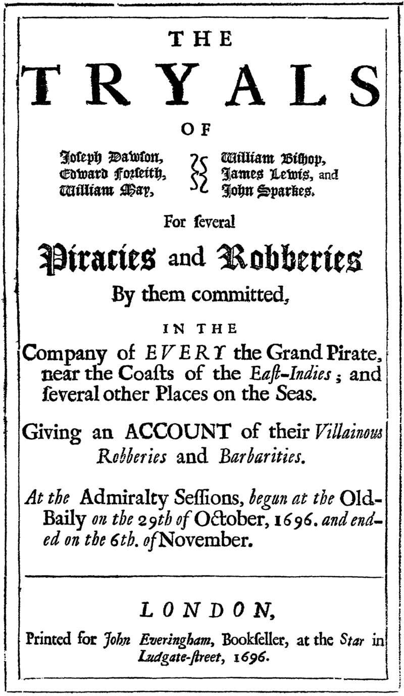The King of Pirates, and the Biggest Pirate Heist in History