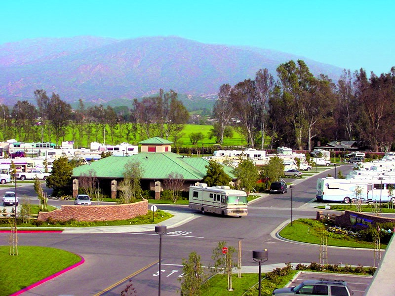 RV park in the US.