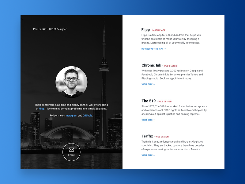50 User Profile Page Design Inspiration By Muzli Muzli Design Inspiration