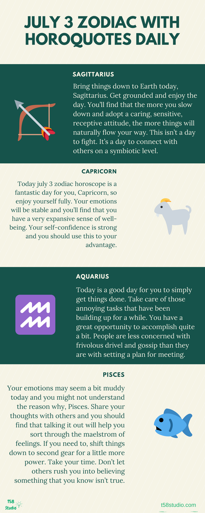 July 3 zodiac horoscope 2018 with horoquotes daily blogs
