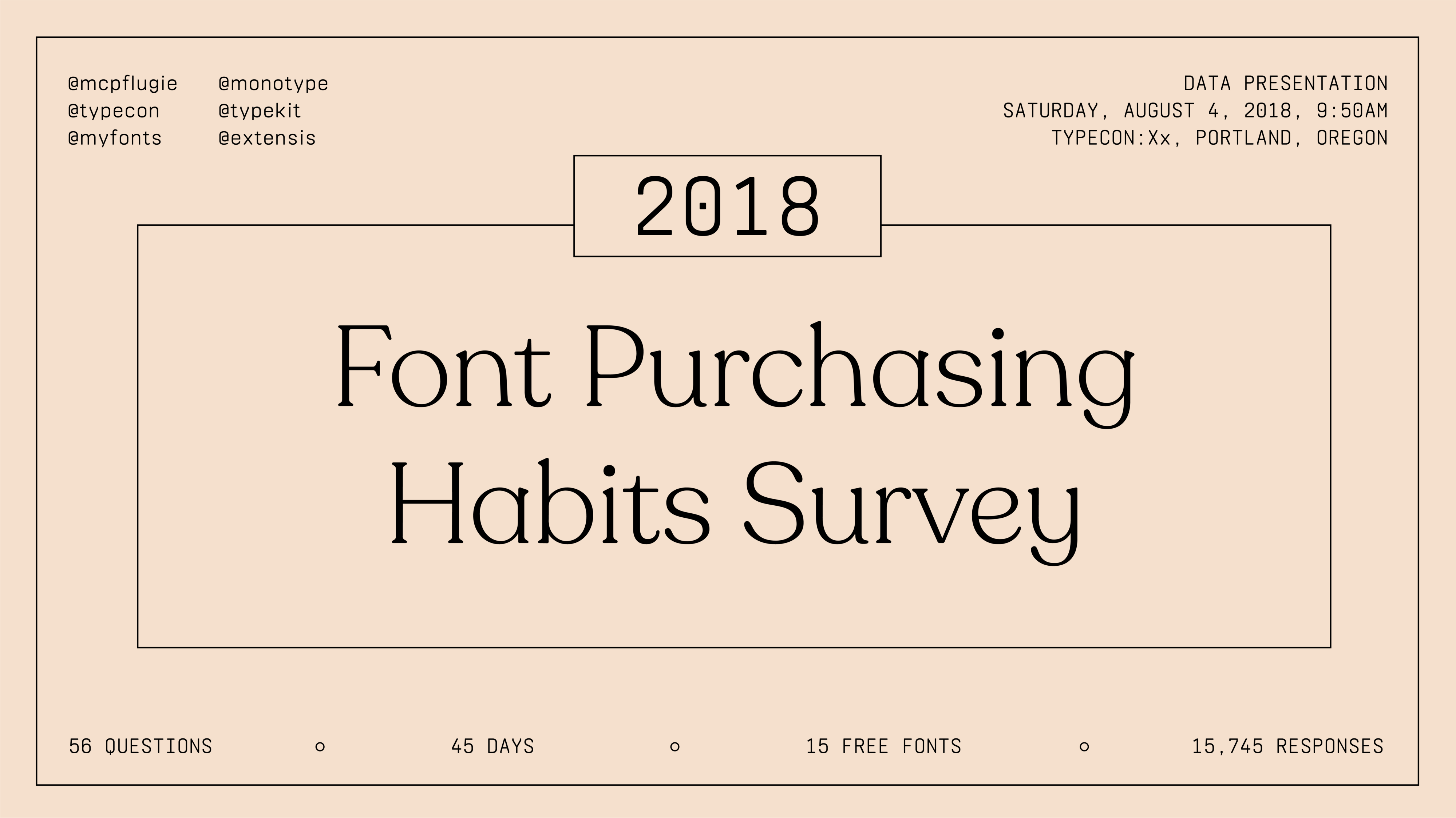 The 2018 Font Purchasing Habits Survey Results (Complete
