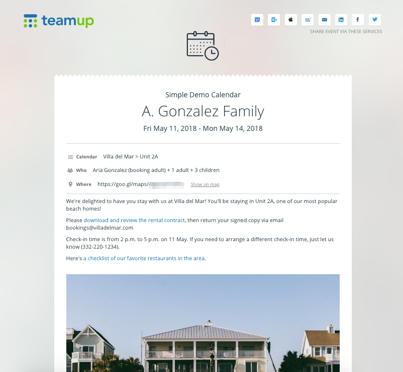 How to Simplify Property Management with a Teamup Calendar
