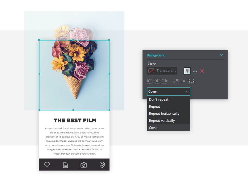 How To Use An Image As A Website Background 4 Best Practices By Justinmind Prototypr