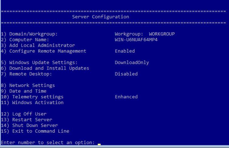 Installing Server 2016/2019 (Core) GUI Less with Proxmox