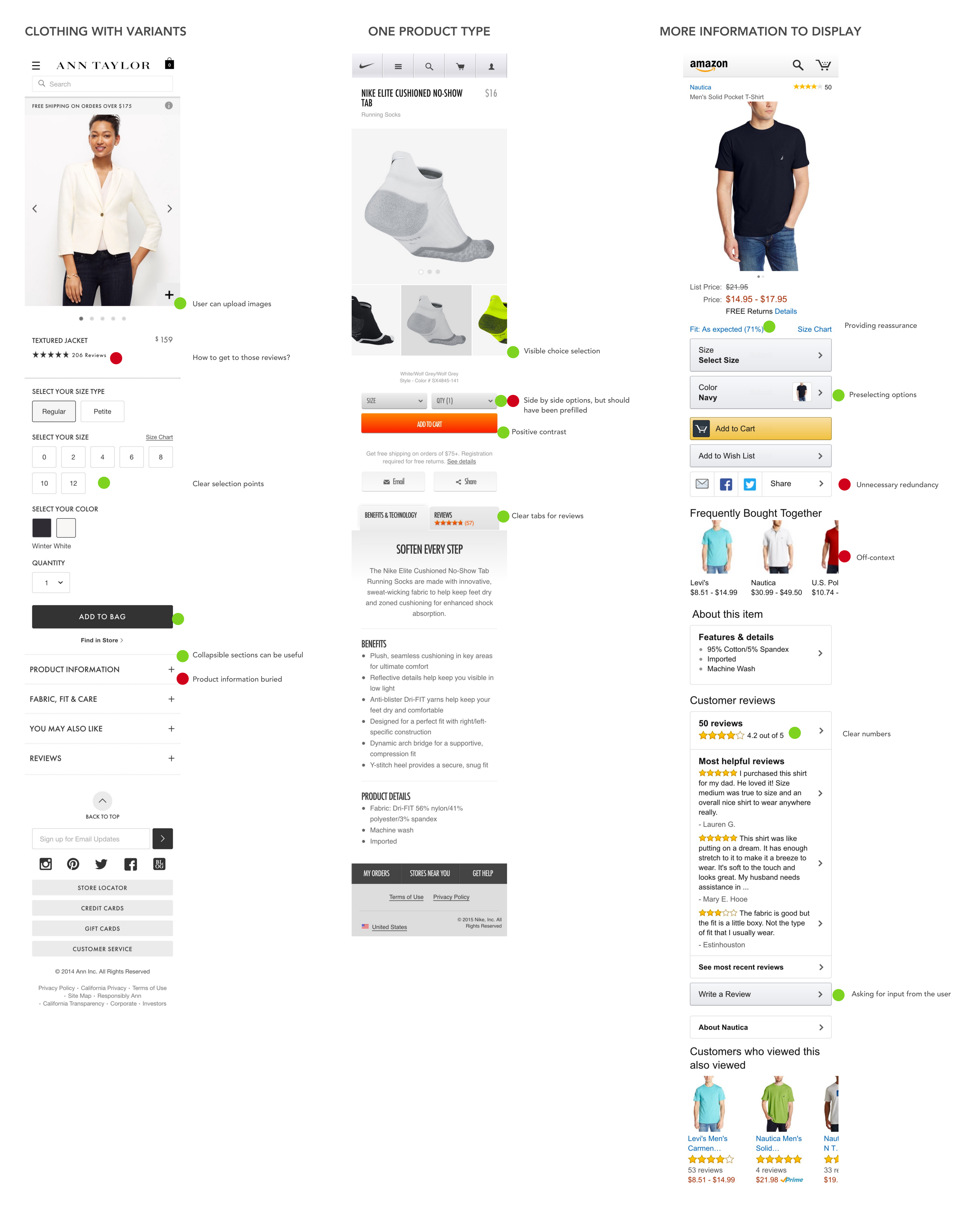 Designing for mobile e-Commerce — a UX design challenge from