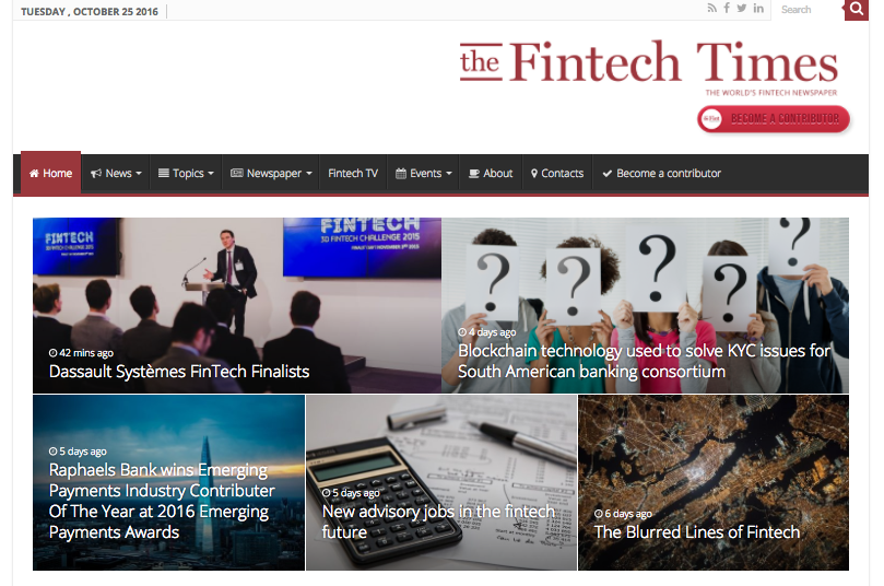 20 Greatest Fintech News Sites We Read at Strands - Strands