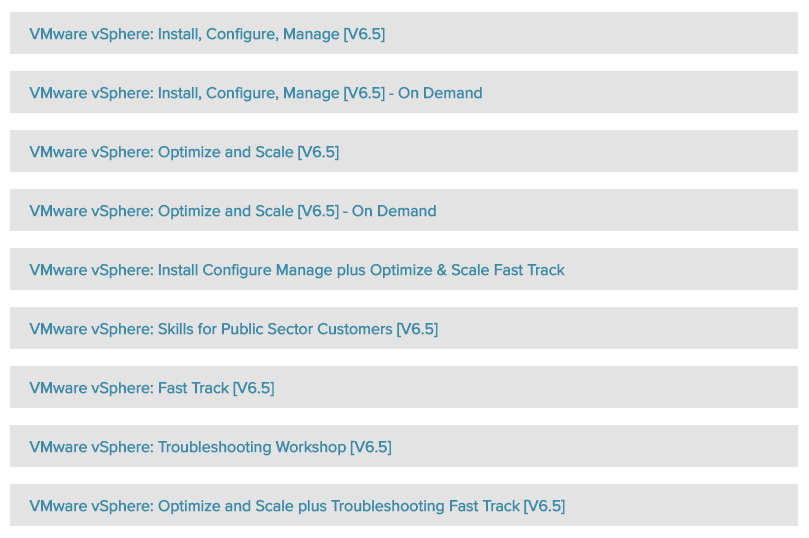 VCP6.5-DCV 18 hours Video Training Learning VMware vSphere 6.5