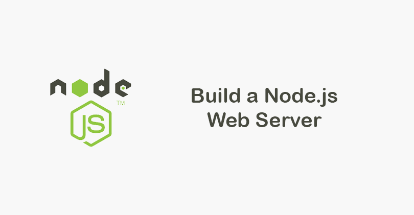 Create A Nodejs Web Server