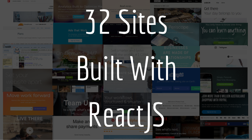 Top 32 Sites Built With Reactjs Reactjs Is One Of The Most Popular New By Coder Academy Medium