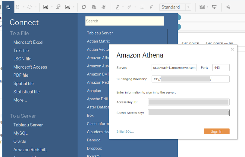 How To Use Amazon Athena Views Within Tableau In 3 Simple Steps