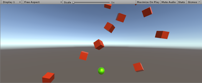 screenshot of gameplay by author