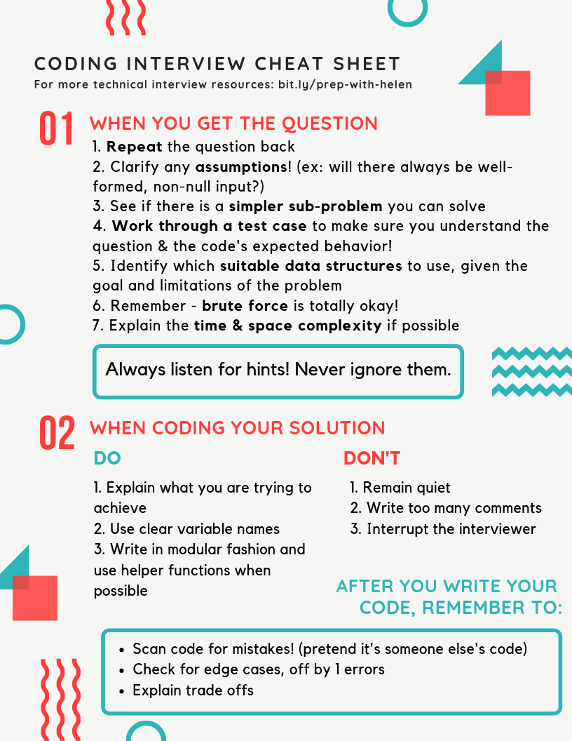 The 4 Week Plan to Nailing Your Next Coding & Technical