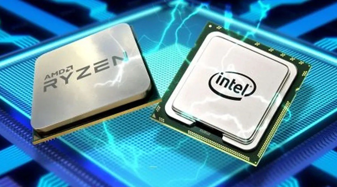 Intel and AMD chip