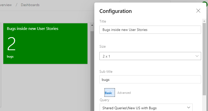 Using Query Tile Pro to boost your Azure DevOps Dashboard