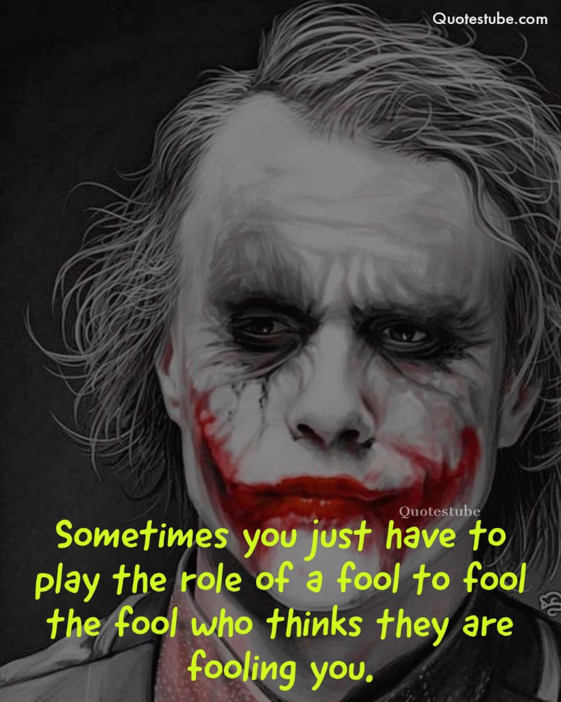Best Joker Quotes Of All Time. Joker Quotes are getting trendy