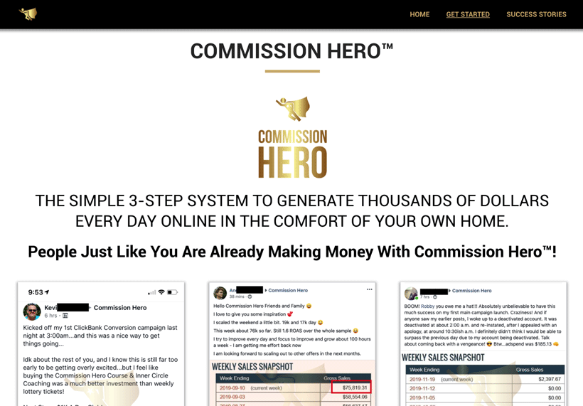 What is Commission Hero