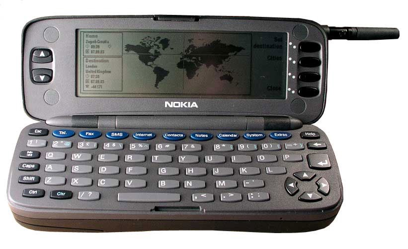 The Gadget We Miss: The Nokia 9000 Communicator - People