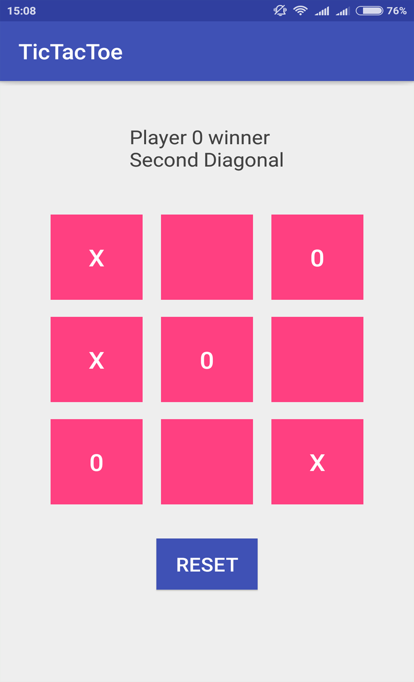 Tic-Tac-Toe (TableLayout) Android App @AndroidMonk