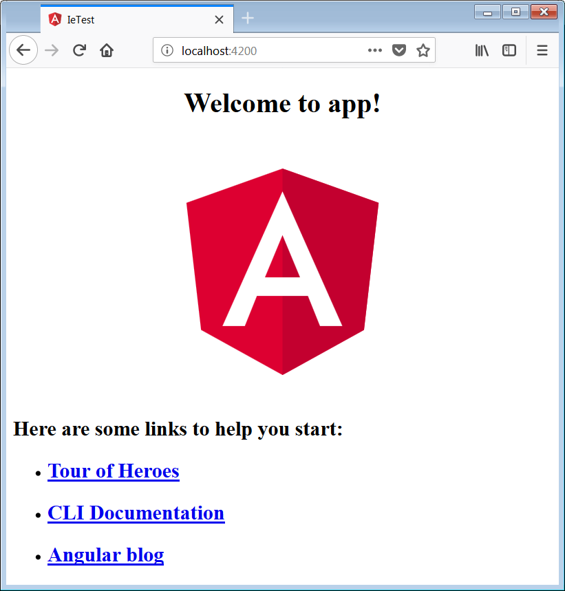 Angular and Internet Explorer - Angular In Depth