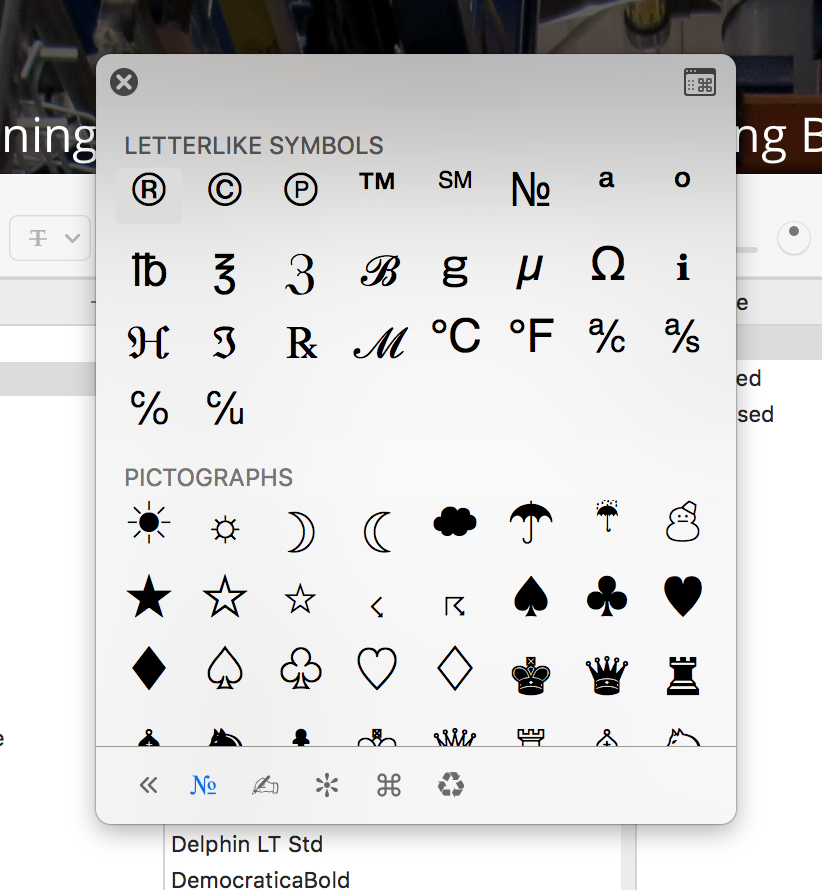 Find Glyphs and Advanced Type Features in Sketch - Brant Day