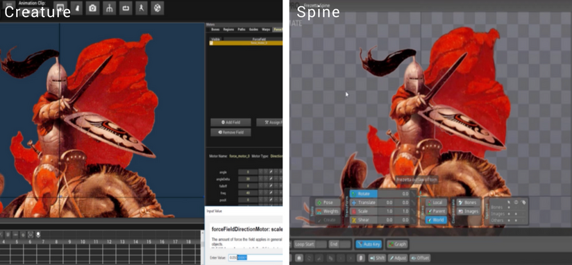 2D Game Animation: Creature vs Spine - DeepMotion - Medium