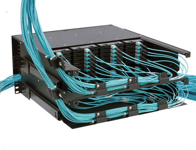 under that situation, keeping good cable management is necessary since  messy cabling will cause fiber optic loss and not easy for troubleshooting