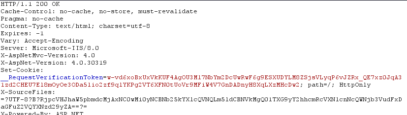 Anti-CSRF Tokens to prevent Cross Site Request Forgery (CSRF)
