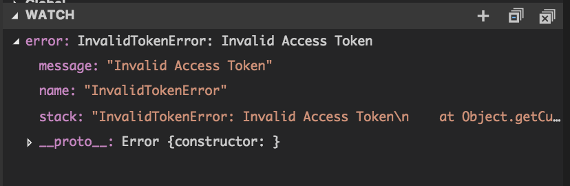Controlling axios HTTP error handling and test it using nock